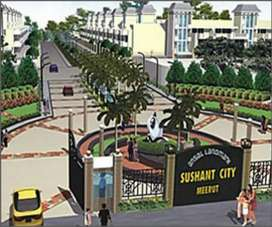 Ansal shushant city meerut near byshubharti university Nh 58
