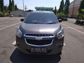 Dijual Chevrolet Spin LTZ 2014 Gress Antik km 24 rb