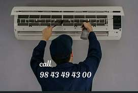 A/C cleaning and Ups , battery,electricals