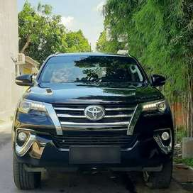 ALL NEW  FORTUNER VRZ automatic, th 2017, km 18rb