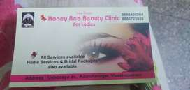 Honey bee beauti clinic