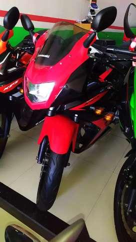 Kawasaki ninja krr th 2014 merah