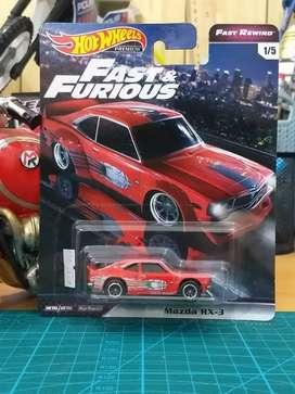 Hotwheels Mazda RX 3