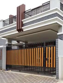 Pintu pagar minimalis murah
