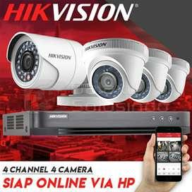 PROMO  CCTV Hikvision NO 1 Terbaik up to 4 MP
