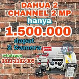 PROMO PAKET CCTV DAHUA 2 CAMERA 2MP