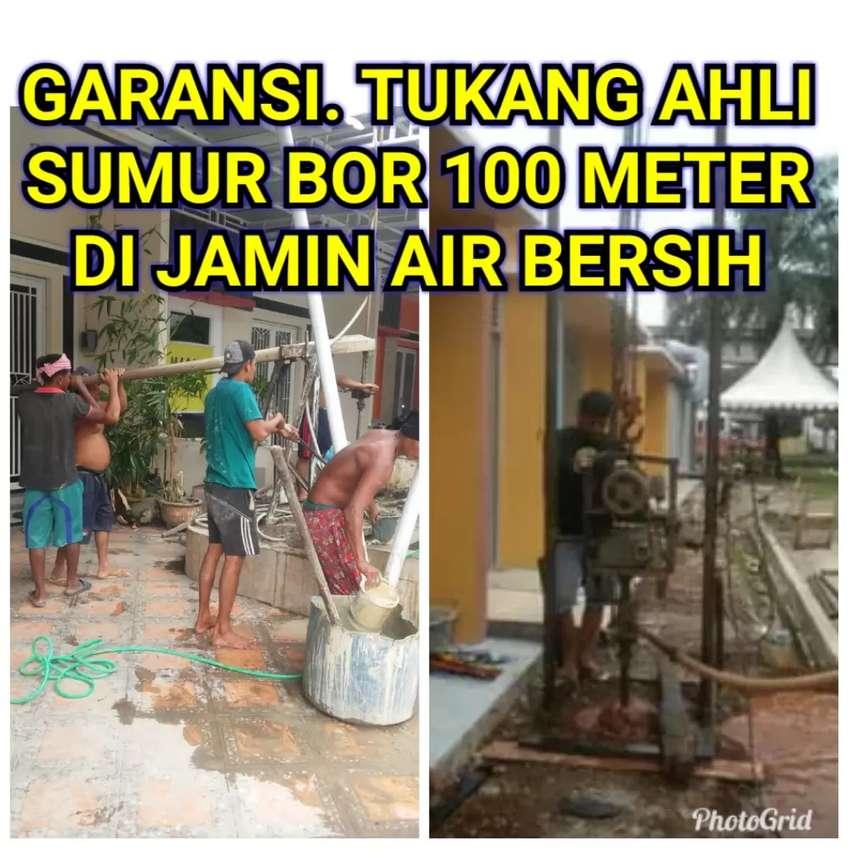Tukang Sumur Bor 100 mtr di jamin air bersih.GARANSI.jujur.cepat 0
