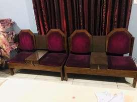 two sofa set 7000 each