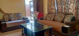 Independent ground floor fully furnished