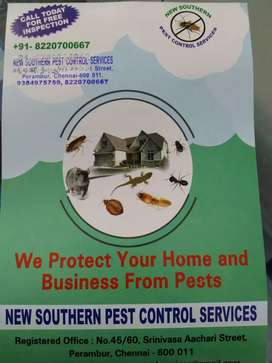 New Southern Pest Control Services- Perambur