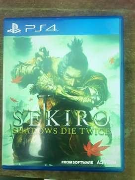 Sekiro 2nd PS4 kondisi baik