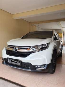 New Honda CR-V 2018(akhir) Type: Prestige 1.5 Turbo Matic/AT Km:20rb!!