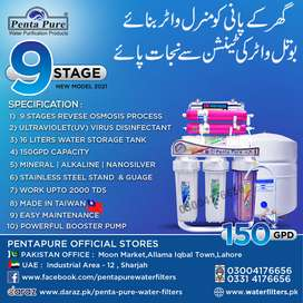 PentaPure 9 Stages 15pgpd Ro Plant Latest - Best Water Filter for Home