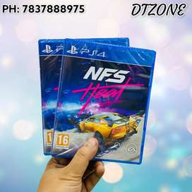 NFS heat PS4 - New Sealed Pack - Indian Stock @dtzone moti nagar