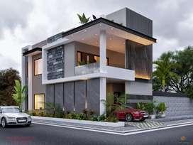 125gaj corner house for sale Prime location at Sbs Nagar Pakhowal Road