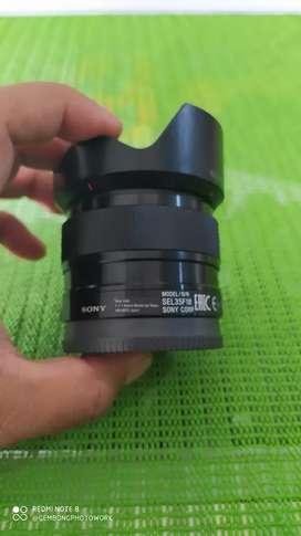 Sony E 35mm F1.8 mulus mantap