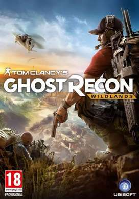 For 300 Tom clancy ghost recon wildlands game for computer and pc