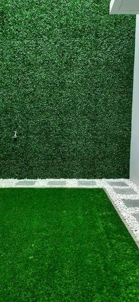 Tanaman Hias Dinding Plastik Bentuk Daun Rambat Dolar