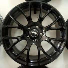 Velg racing murah R18*8.0 h5*114.3 et40 bisa buat mobil Civic Camry