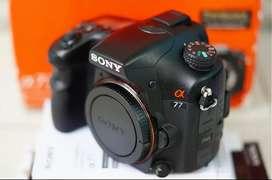 Sony slt a77 body only Mulus sc rendah