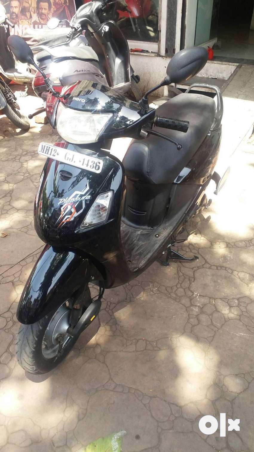 Good Condition Hero Honda Pleasure Std with Warranty |  1436 Pune 0