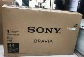 New Sony Bravia smart led  40,43,50 with 2 year warranty starts 15999