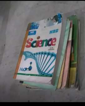 9th class all books with science guide