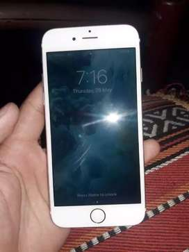 I phone 6s 10/10 condition rose Golden 64 GB