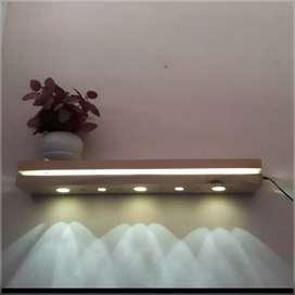 Lampu ambalan melayang gantungan kunci magnet hiasan dinding