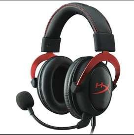 Gaming headset (Headphone)   HyperX cloud II