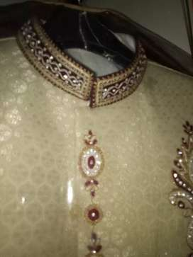 New Shirwani for sale just 2hour used