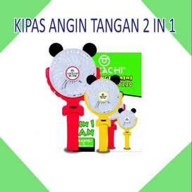 KIPAS ANGIN TANGAN 2 IN 1
