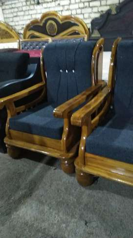 New brand Teak wood sofa set 3+1+1 sitar