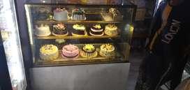 Sweet and cake counter ac wala