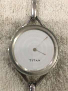 TITAN wrist watch. Sleek model