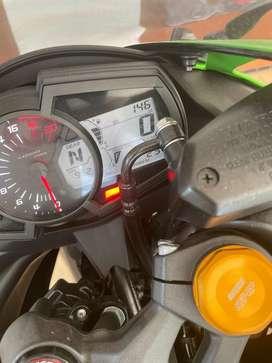 Kawasaki ninja zx25r barang baru 145 km