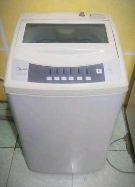 Dijual : Mesin Cuci 1 Tabung Top Loading merek Midea Kapasitas 6.5 Kg