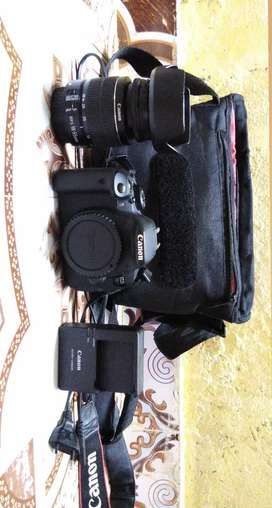 Canon 700D With 18-55 Lens