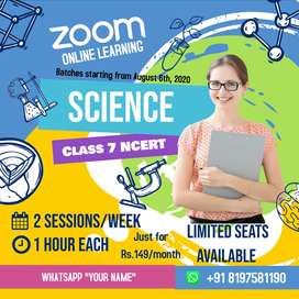 Online classes for Class 7th Science