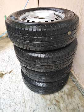Tubeless tyres and stepnies for sale