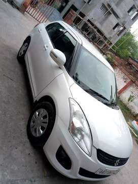 Dzire car on rent local or out standing