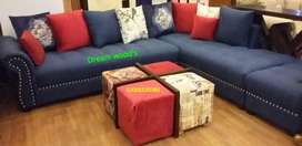 best offer Free Home Delivery corner sofa