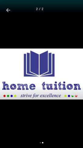 Home tution available here for class 1-9