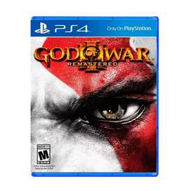 GOD OF WAR 3 REMASTED PS4