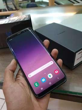 Samsung galaxy S8 SEIN lengkap mulus tak kenal minus