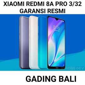 Xiaomi Redmi 8A Pro 3/32 Grey white Garansi Resmi Free Tglass+case