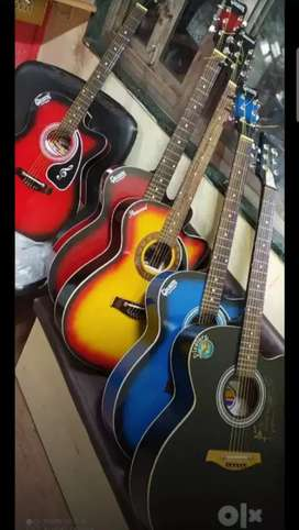 Givsons Semi Acoustic Guitars With Truss Rod