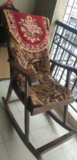 A decent rocking chair available for sale