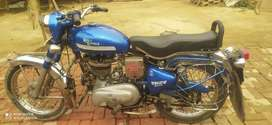 Best bike and its good condition and bright blue