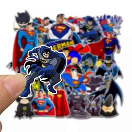 Movies and comics stickers